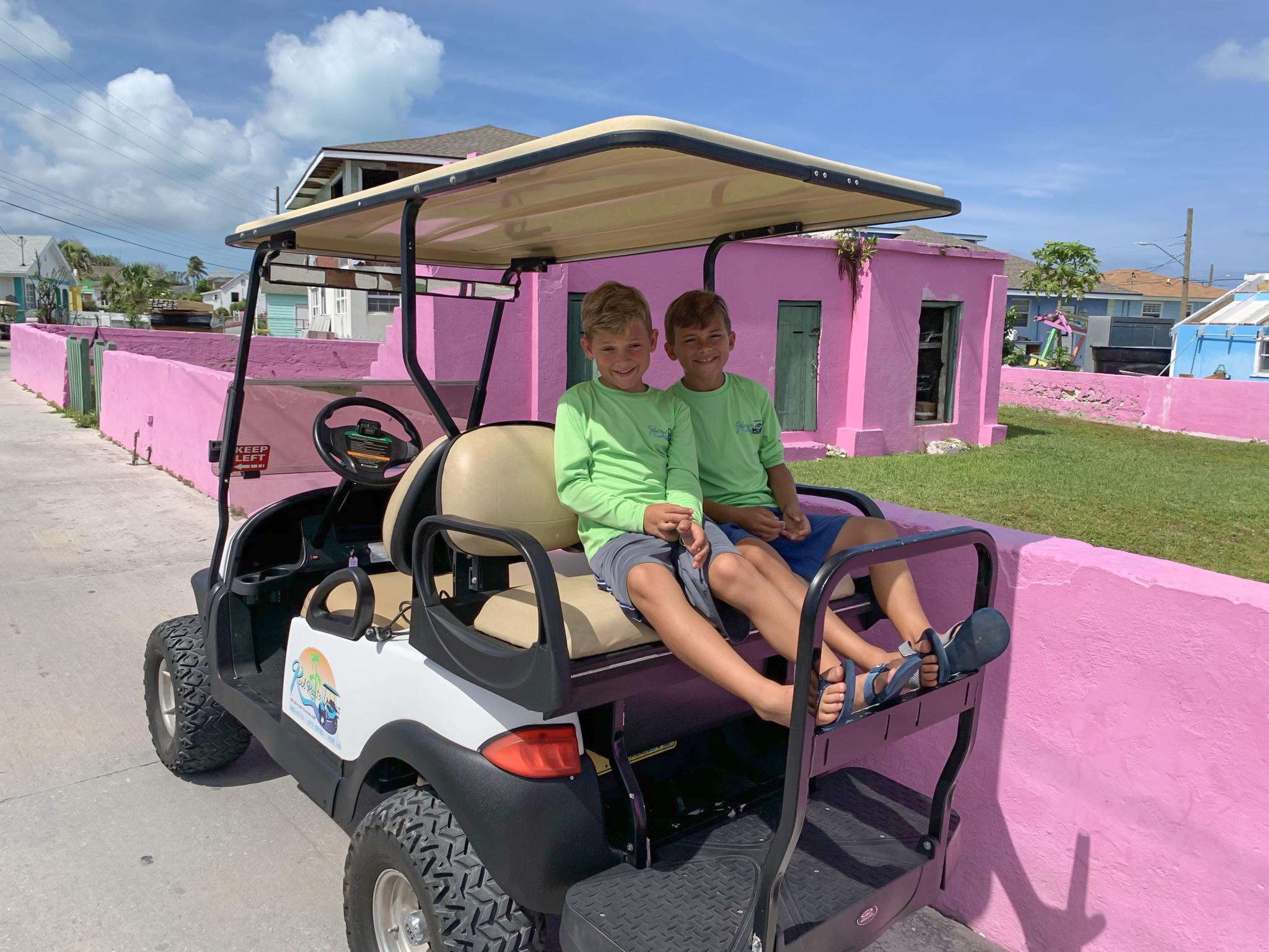 Kool Karts Green Turtle Cay Bahamas
